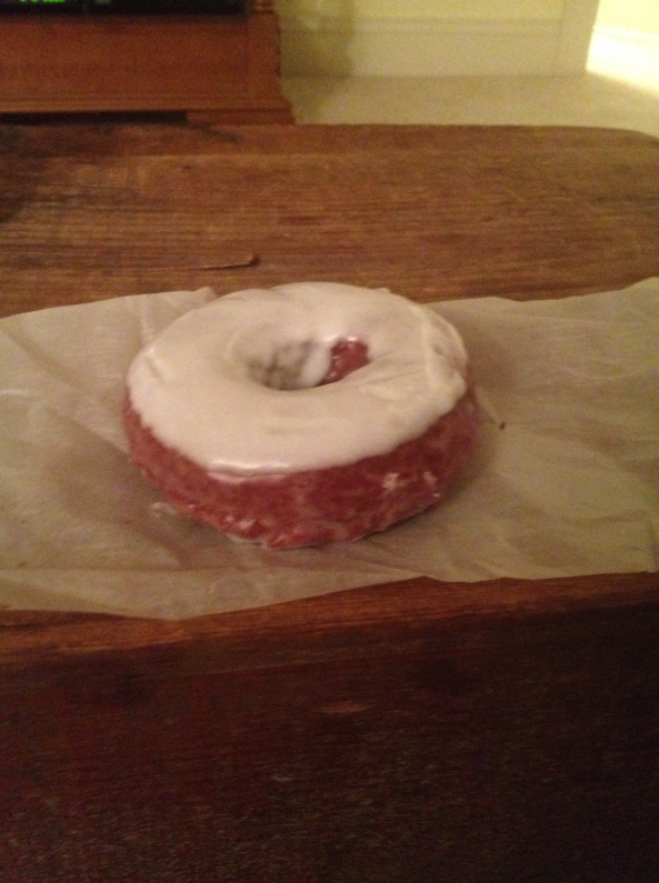 Red Velvet Doughnut